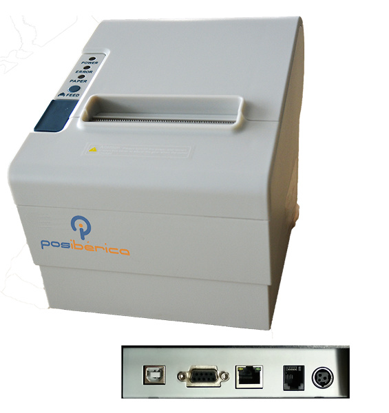 IMP. TERMICA P80 PLUS-USL USB/RS232/LAN BLANCA