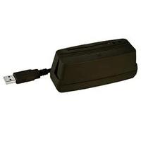 LECTOR CHIP + B.M. 3 PISTAS USB NEGRO