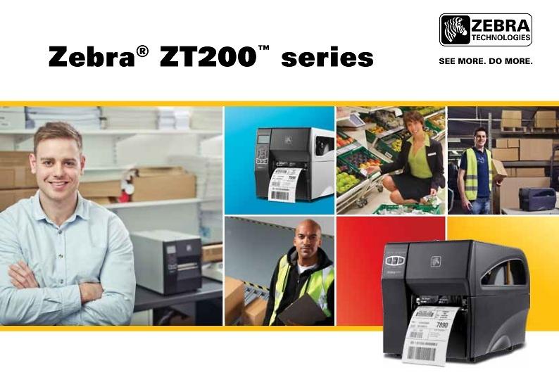 Nueva gama de impresoras de etiquetas ZT200 series