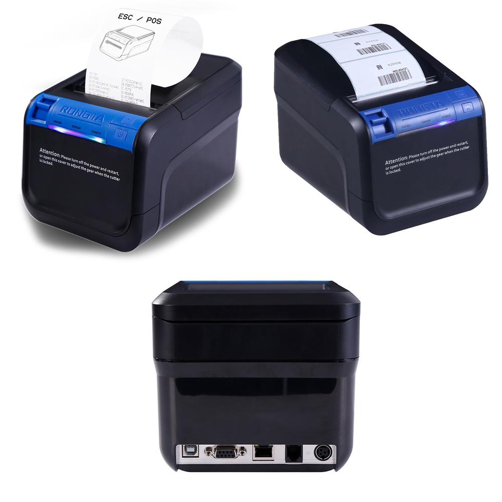Nueva impresora Híbrida térmica de etiquetas y tíquets