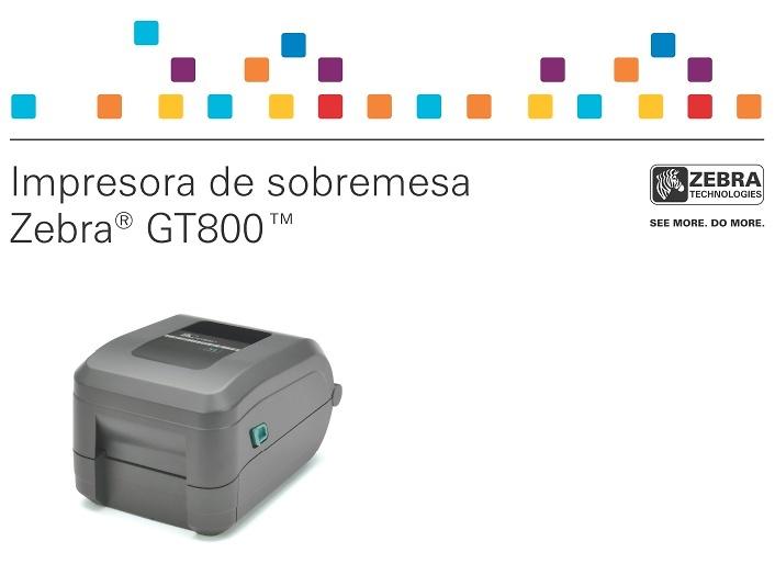 Nueva impresora de etiquetas GT800