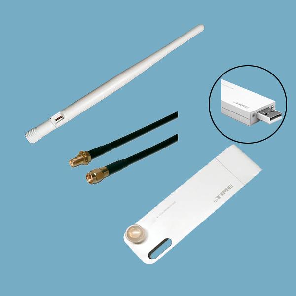WIFI USB STICK + ANTENA PANEL PC IPC-A1x0T