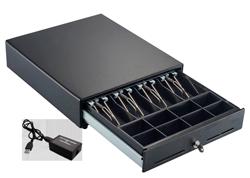 CAJON ELECTRICO POS-410 USB NEGRO