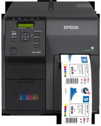 IMP. EPSON ColorWorks C7500G USB + ETHERNET NEGRO