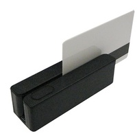 LECTOR TARJETA B.M. 3 PISTAS USB NEGRO
