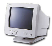 "MONITOR 10"" CRT COLOR SVGA TVS"